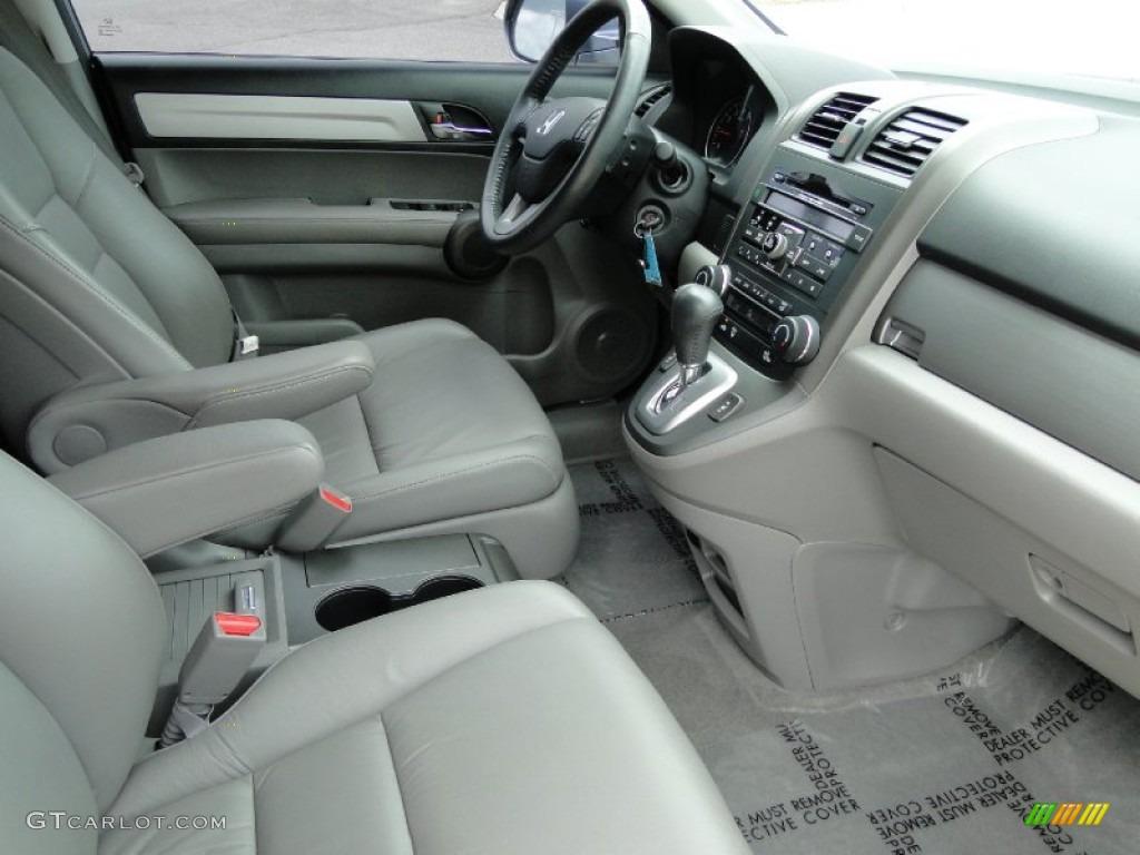 2011 CR-V EX-L 4WD - Glacier Blue Metallic / Gray photo #23