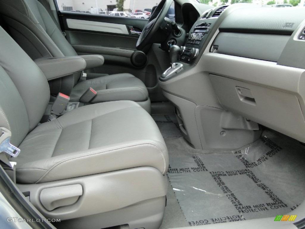 2011 CR-V EX-L 4WD - Glacier Blue Metallic / Gray photo #25