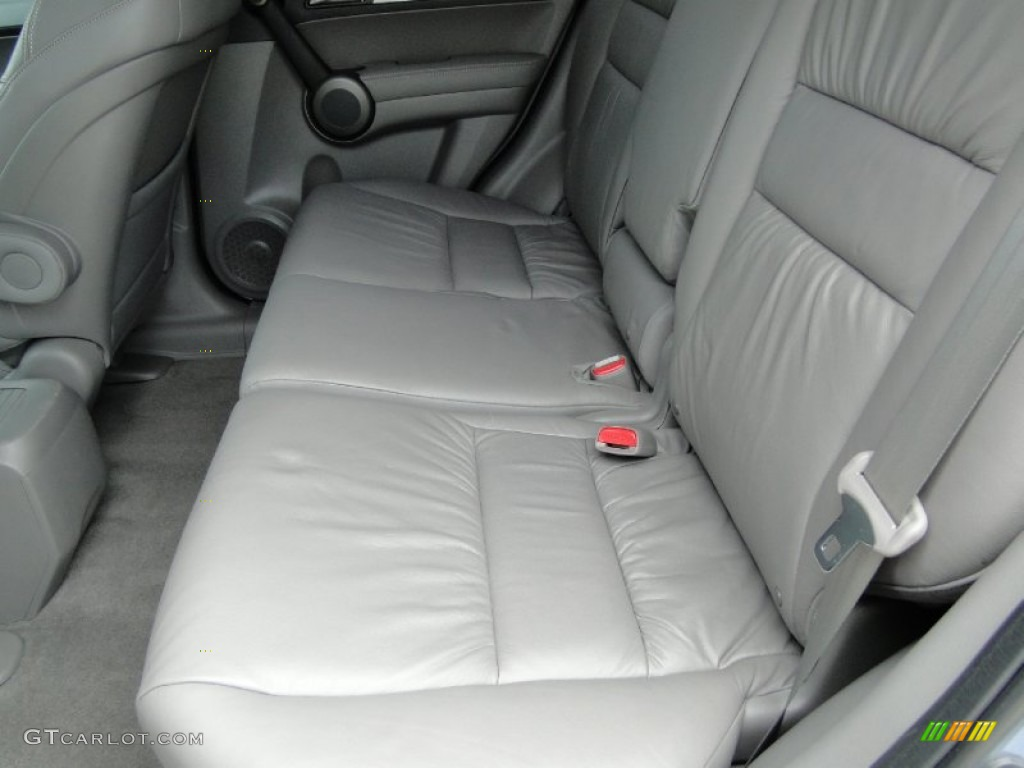 2011 CR-V EX-L 4WD - Glacier Blue Metallic / Gray photo #26