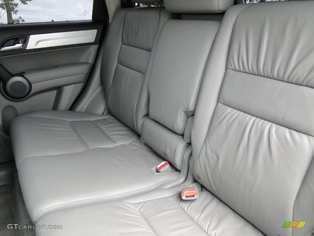 2011 CR-V EX-L 4WD - Glacier Blue Metallic / Gray photo #27
