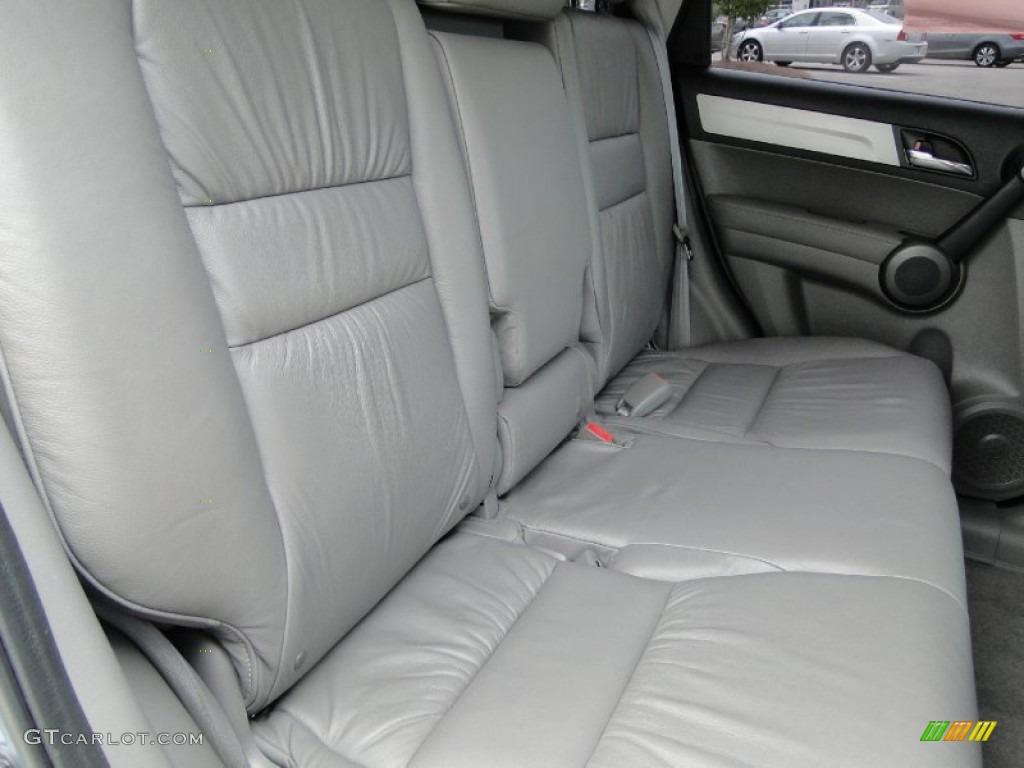 2011 CR-V EX-L 4WD - Glacier Blue Metallic / Gray photo #28