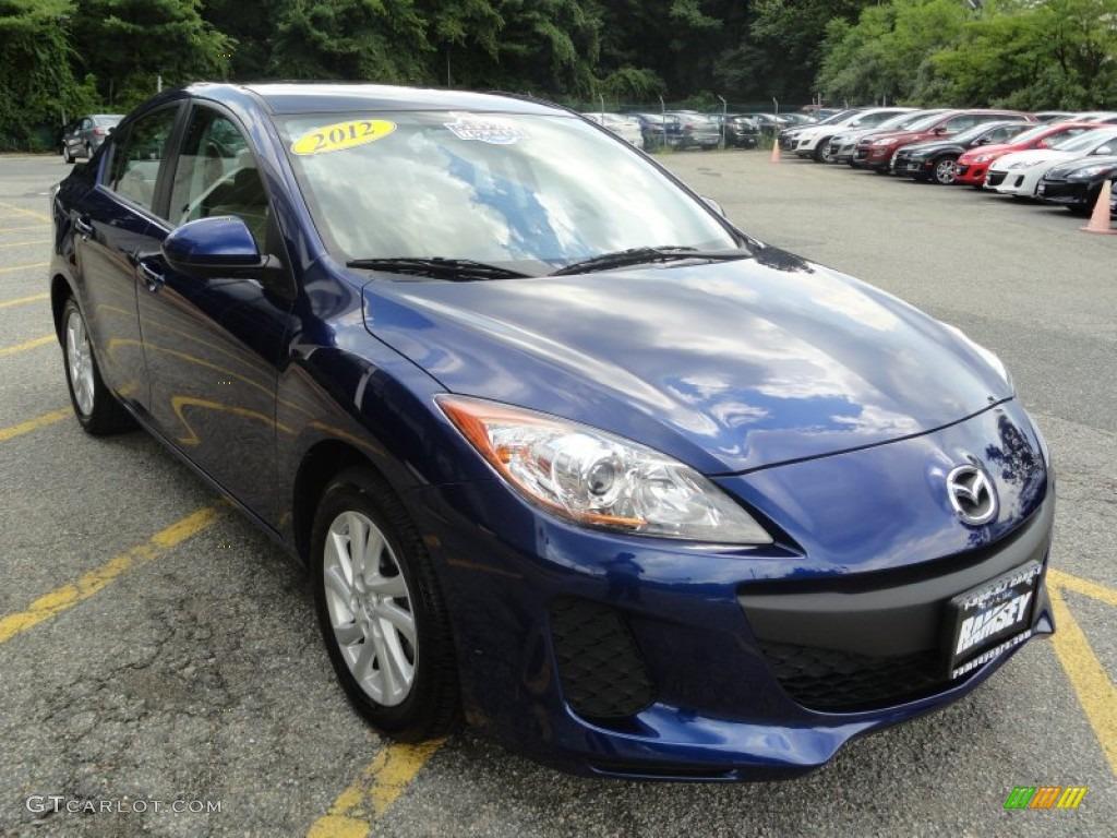 2012 Indigo Lights Mica Mazda Mazda3 I Sport 4 Door 67845701 Photo 3 Car