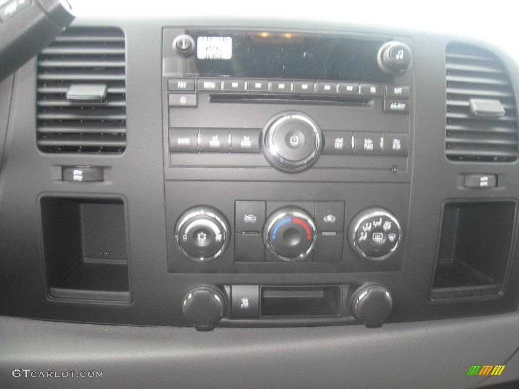2011 Silverado 1500 Extended Cab - Imperial Blue Metallic / Dark Titanium photo #9