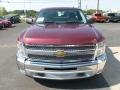 2013 Deep Ruby Metallic Chevrolet Silverado 1500 LT Regular Cab 4x4  photo #2