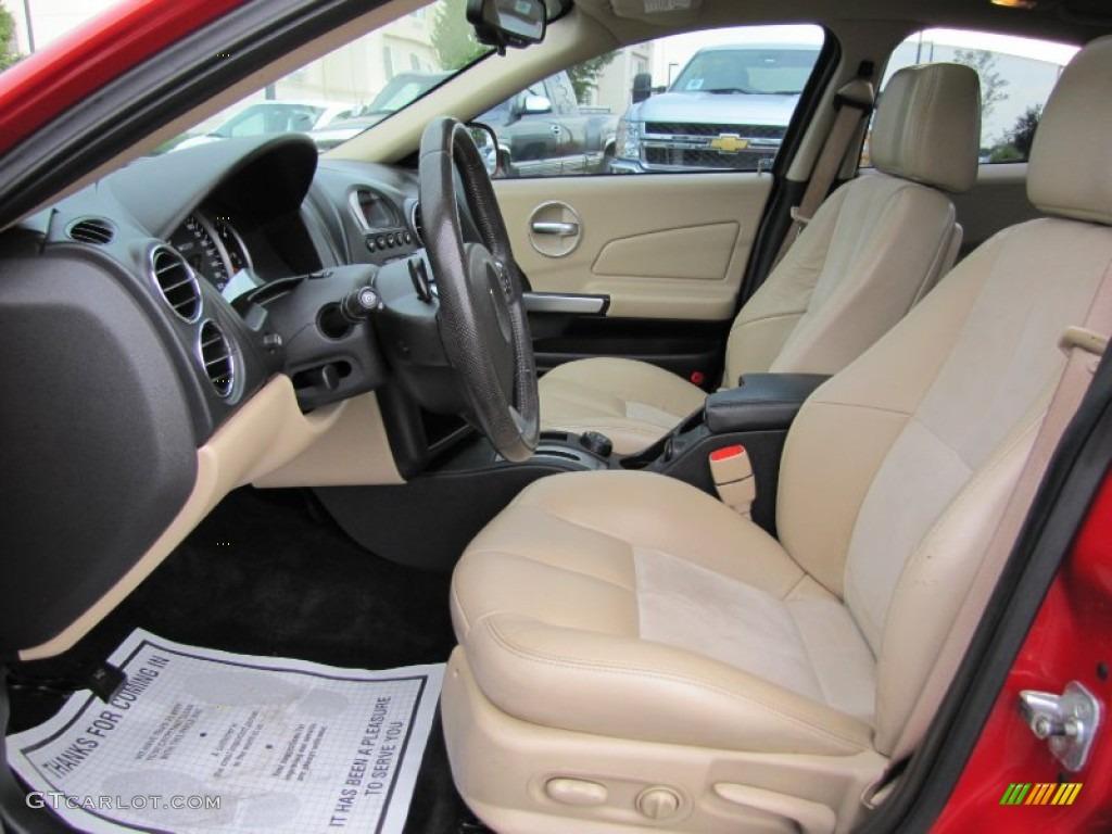 2008 Pontiac Grand Prix Gxp Sedan Interior Photos