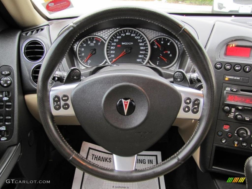2008 Pontiac Grand Prix Gxp Sedan Cashmere Steering Wheel