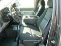 2012 Mocha Steel Metallic Chevrolet Silverado 1500 Work Truck Extended Cab 4x4  photo #16