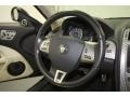 2008 Jaguar XK Ivory/Charcoal Interior Steering Wheel Photo