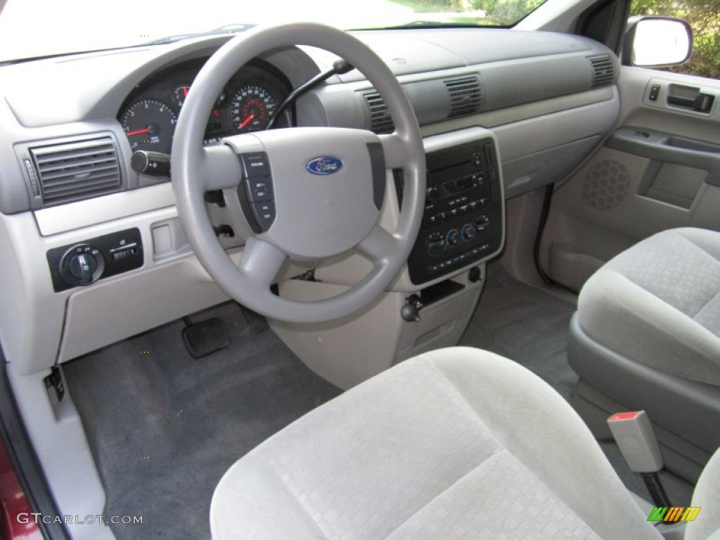 Flint Grey Interior 2006 Ford Freestar SE Photo 67923434
