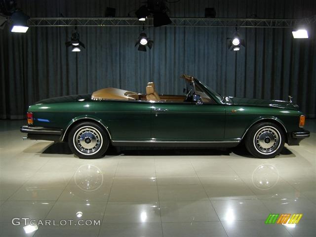 Vehicle Specs By Vin >> 1990 Green Rolls-Royce Silver Spirit II Custom Convertible #52968 Photo #3 | GTCarLot.com - Car ...