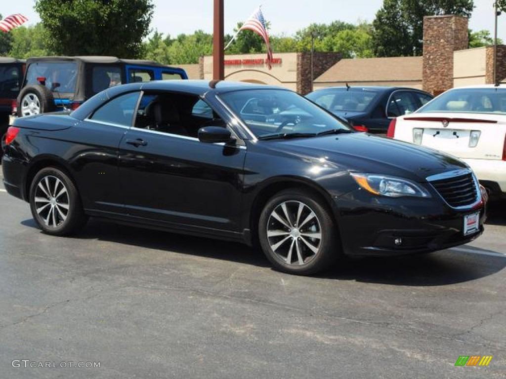 black 2012 chrysler 200 s convertible exterior photo 67925282. Black Bedroom Furniture Sets. Home Design Ideas