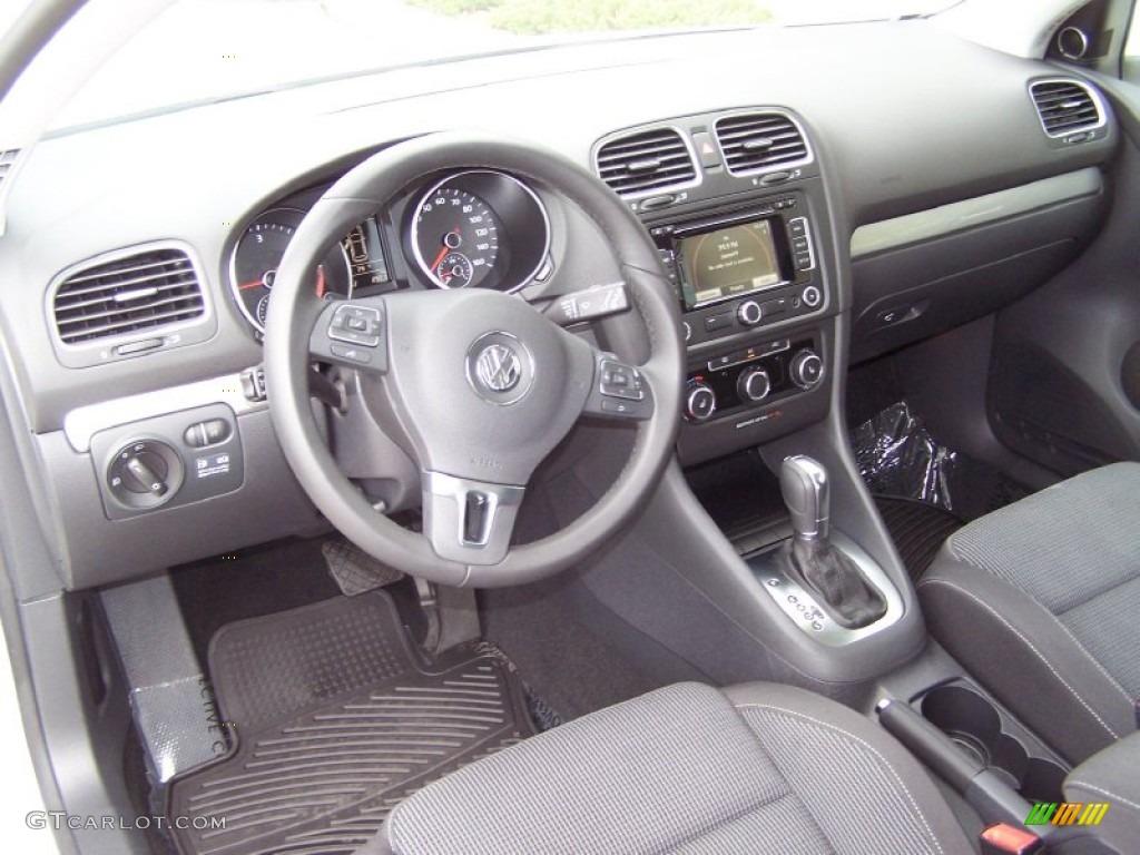 2012 Volkswagen Golf 2 Door Tdi Interior Color Photos