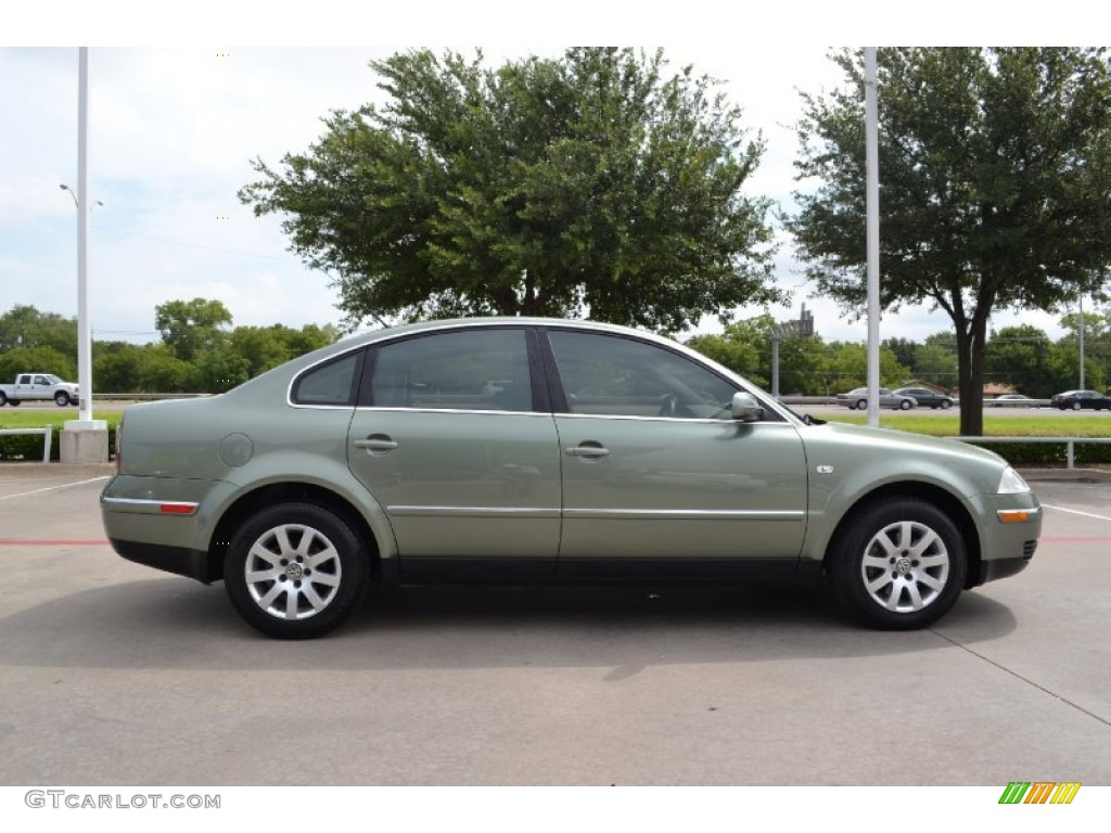 fresco green metallic 2002 volkswagen passat gls sedan exterior photo 67927952. Black Bedroom Furniture Sets. Home Design Ideas