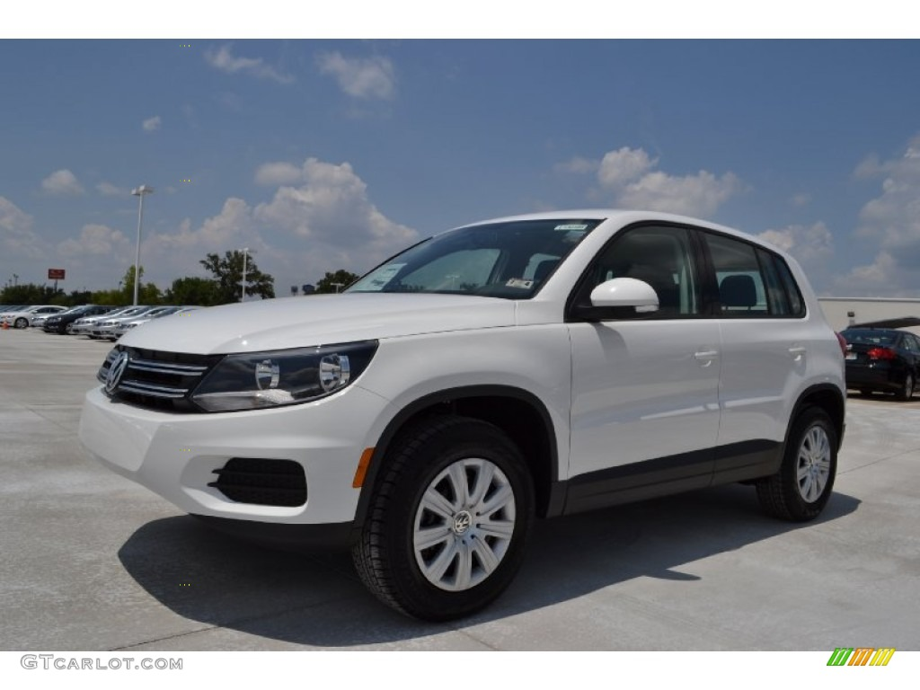 candy white 2013 volkswagen tiguan s exterior photo 67930451. Black Bedroom Furniture Sets. Home Design Ideas
