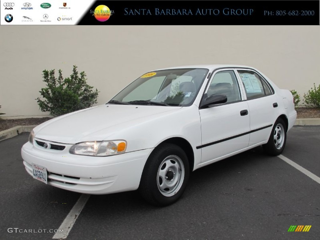 1998 super white toyota corolla ce 67900824 car color galleries. Black Bedroom Furniture Sets. Home Design Ideas