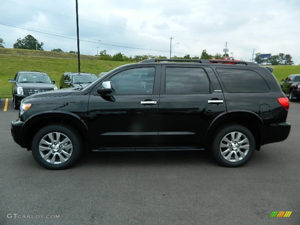 2012 toyota sequoia limited 4wd exterior photos. Black Bedroom Furniture Sets. Home Design Ideas