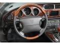 2006 Jaguar XK Charcoal Interior Steering Wheel Photo