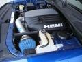 2009 Deep Water Blue Pearl Coat Dodge Challenger R/T  photo #42