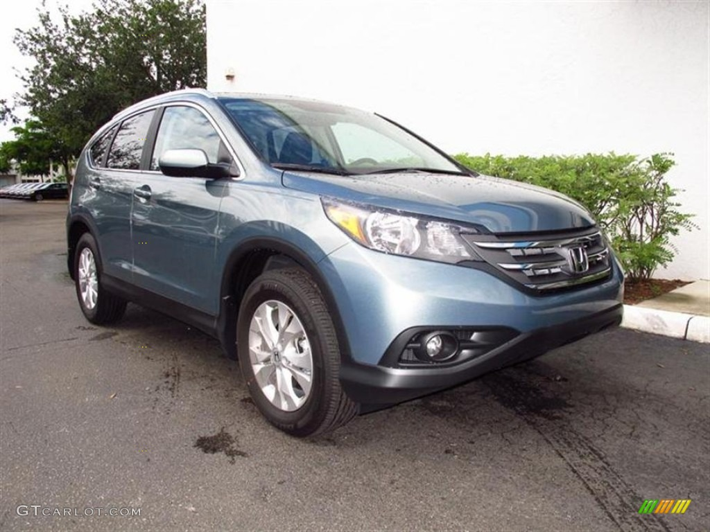 Opal Sage Metallic 2012 Honda CR-V EX-L 4WD Exterior Photo #67944596