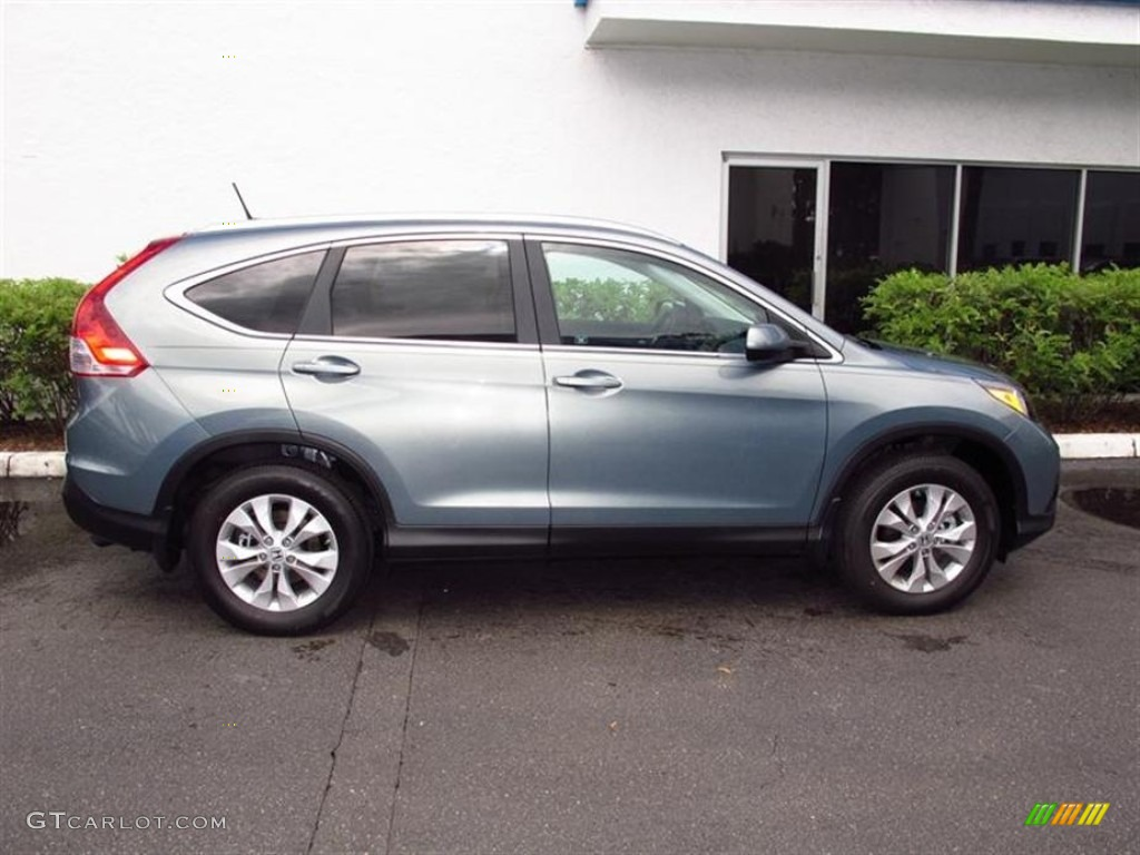 Opal Sage Metallic 2012 Honda CR-V EX-L 4WD Exterior Photo #67944605