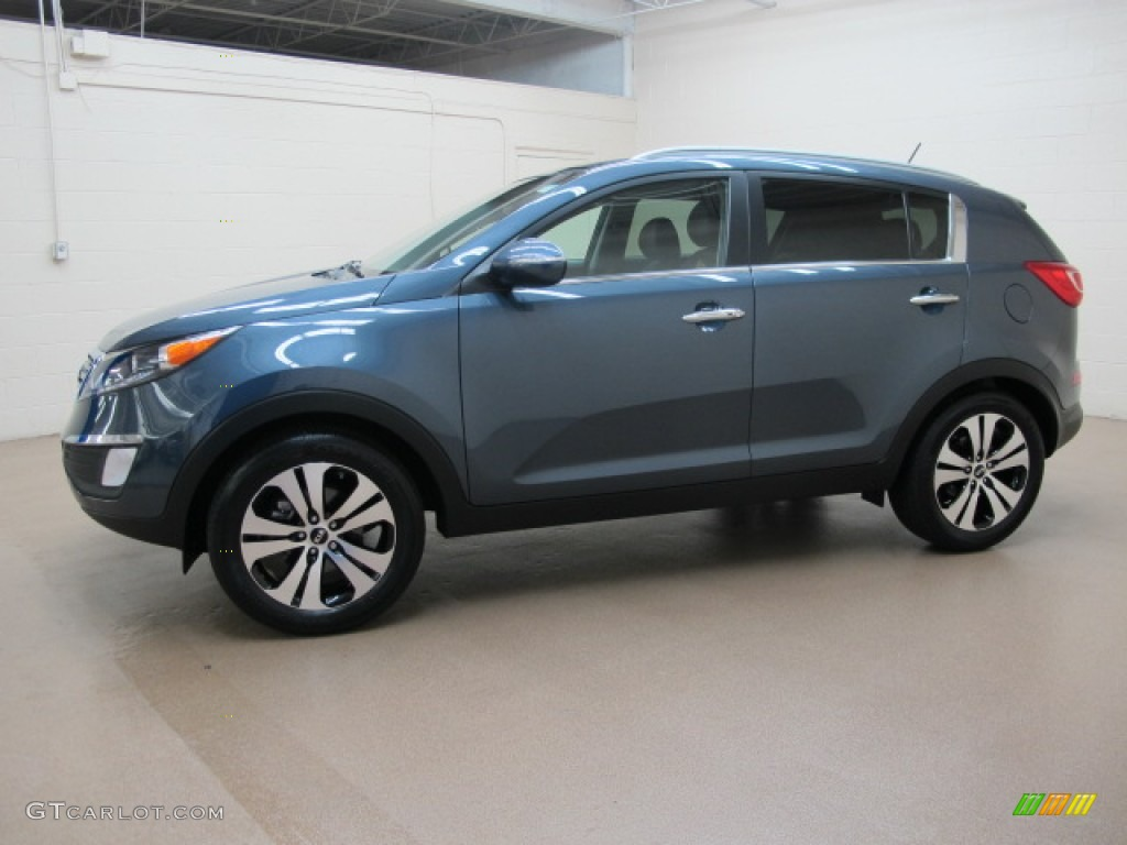 twilight blue 2012 kia sportage ex exterior photo 67944941. Black Bedroom Furniture Sets. Home Design Ideas