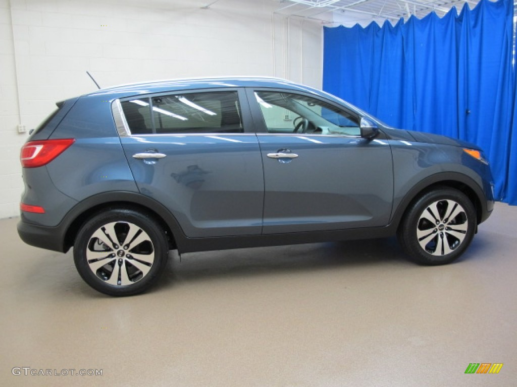 twilight blue 2012 kia sportage ex exterior photo 67944983. Black Bedroom Furniture Sets. Home Design Ideas