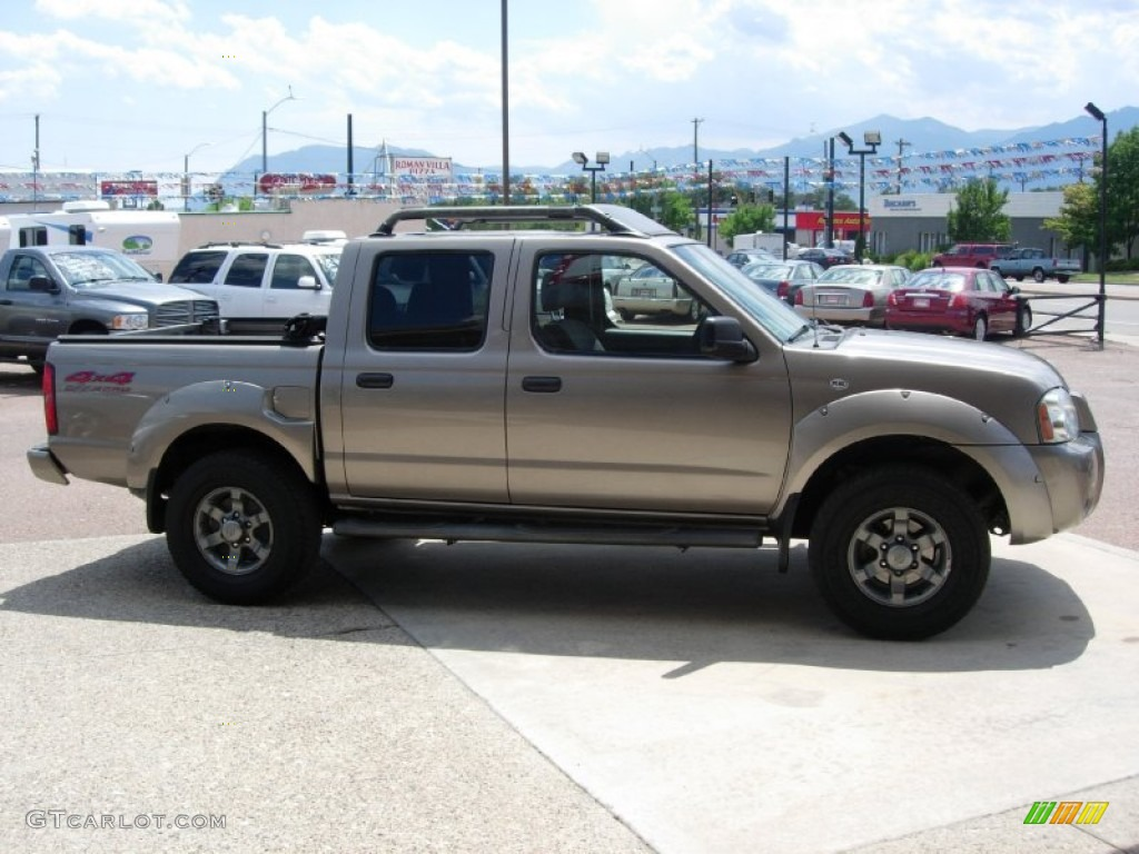 Granite metallic 2003 nissan frontier xe v6 crew cab 4x4 exterior photo 67948178