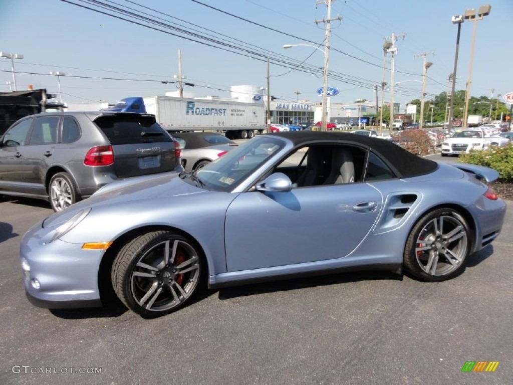 2011 Ice Blue Metallic Porsche 911 Turbo Cabriolet #67900729 Photo Blue Metallic Porsche Paint Colors on porsche cayenne paint colors, porsche 911 turbo light blue color, porsche paint color chart,