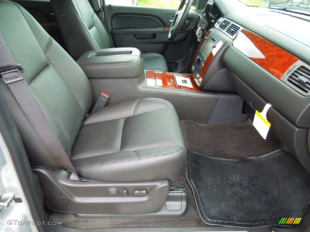 chevrolet avalanche interior ebony - photo #35