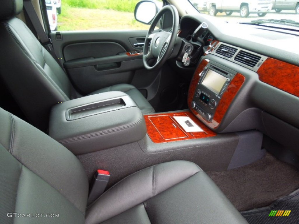 chevrolet avalanche interior ebony - photo #7