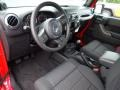 2012 Flame Red Jeep Wrangler Sport 4x4  photo #24