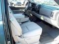 2012 Blue Granite Metallic Chevrolet Silverado 1500 LT Extended Cab 4x4  photo #6