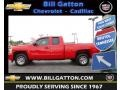 Victory Red 2010 Chevrolet Silverado 1500 LS Extended Cab