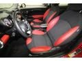 Black/Rooster Red Front Seat Photo for 2009 Mini Cooper #67971859