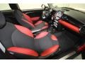 Black/Rooster Red Front Seat Photo for 2009 Mini Cooper #67972081
