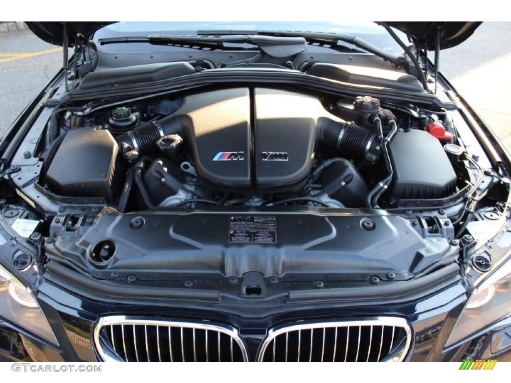 2010 BMW M5 Standard M5 Model 5.0 Liter M DOHC 40-Valve VVT V10 Engine Photo #67981070 ...