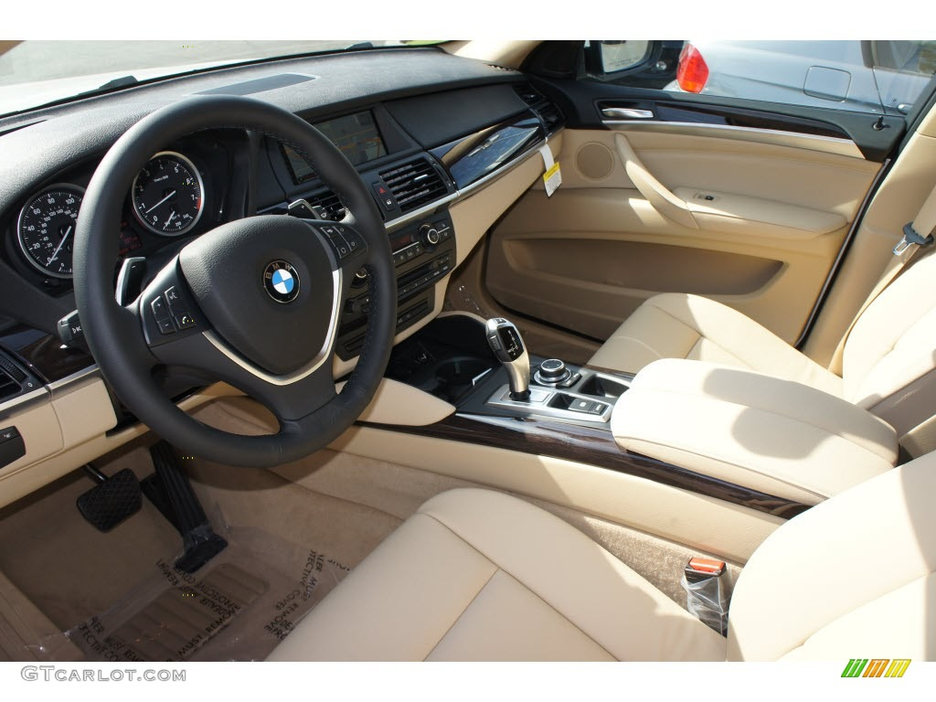 Sand Beige Interior 2013 Bmw X6 Xdrive35i Photo 67992218