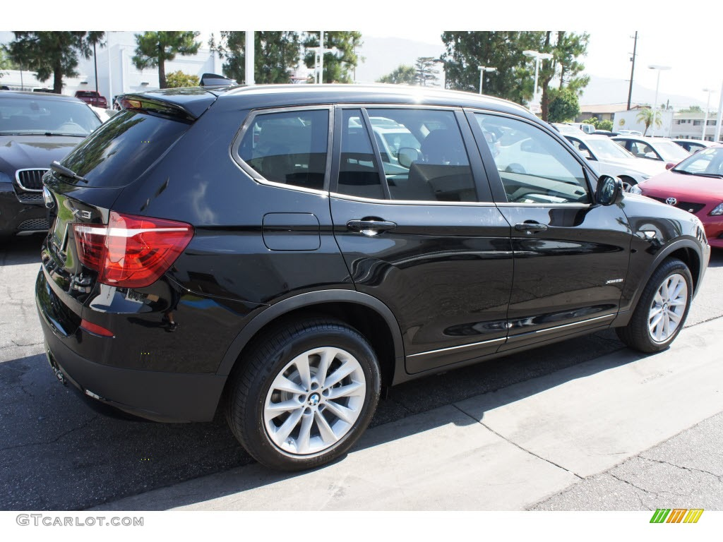 Jet Black 2013 Bmw X3 Xdrive 28i Exterior Photo 67992299