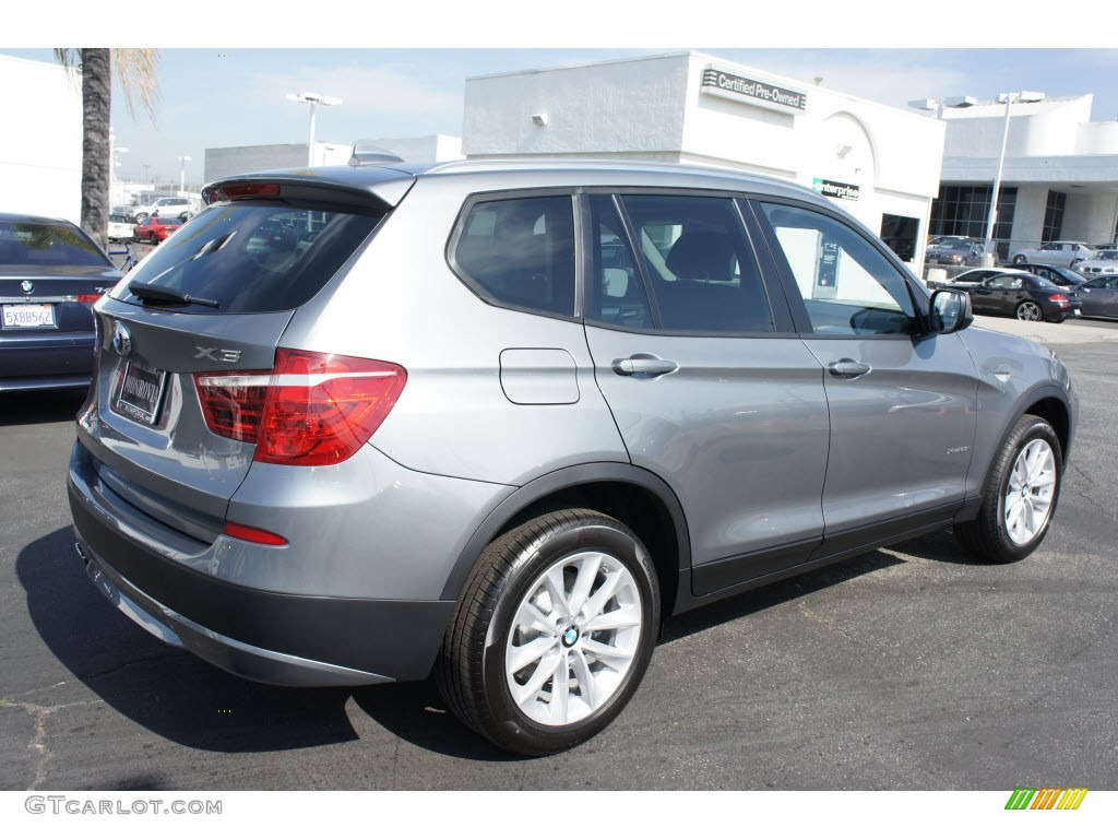 Space Gray Metallic 2013 BMW X3 XDrive 28i Exterior Photo 67992359