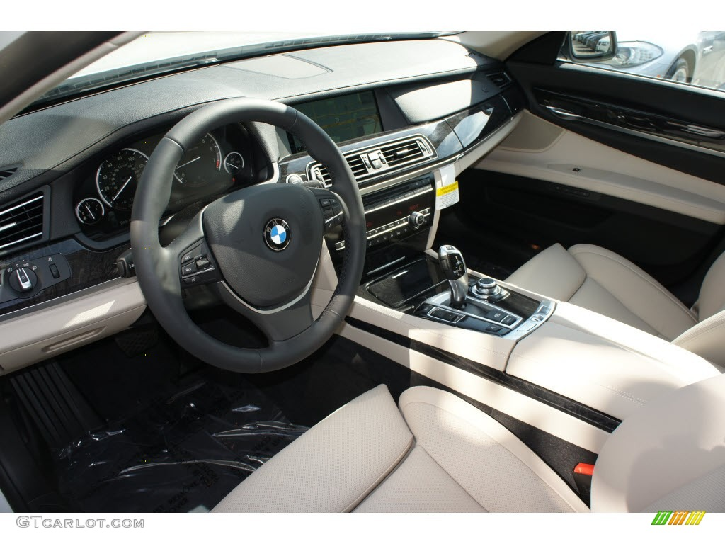 2006 Bmw 750i >> Oyster/Black Interior 2012 BMW 7 Series 740Li Sedan Photo #67992884 | GTCarLot.com