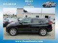 2012 Crystal Black Pearl Honda CR-V EX 4WD  photo #1