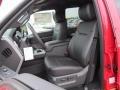 2012 Vermillion Red Ford F250 Super Duty Lariat Crew Cab 4x4  photo #16