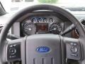2012 Vermillion Red Ford F250 Super Duty Lariat Crew Cab 4x4  photo #25