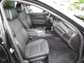 Black 2012 BMW 7 Series Interiors