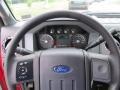 2012 Vermillion Red Ford F250 Super Duty XLT Regular Cab 4x4  photo #22