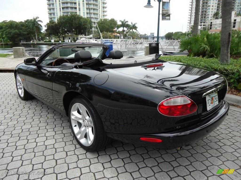 2003 Midnight Metallic Jaguar Xk Xk8 Convertible 67961735