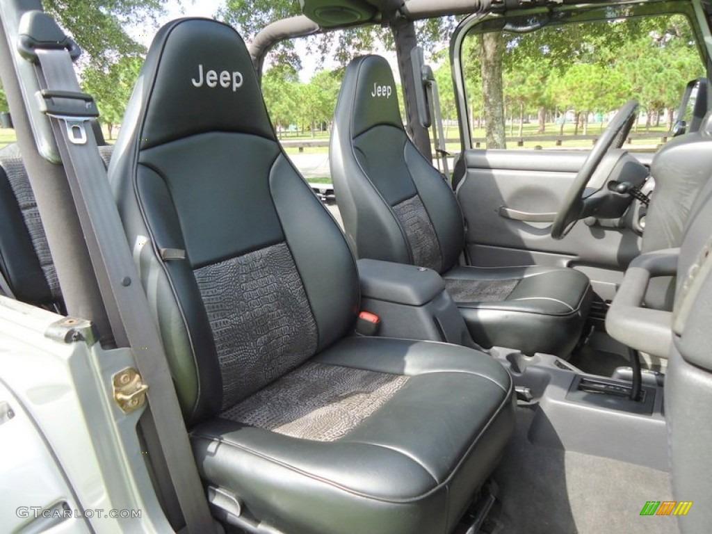2000 Jeep Wrangler Sport 4x4 Interior Photo #68003003 Pictures