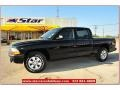 2004 Black Dodge Dakota Sport Quad Cab  photo #1