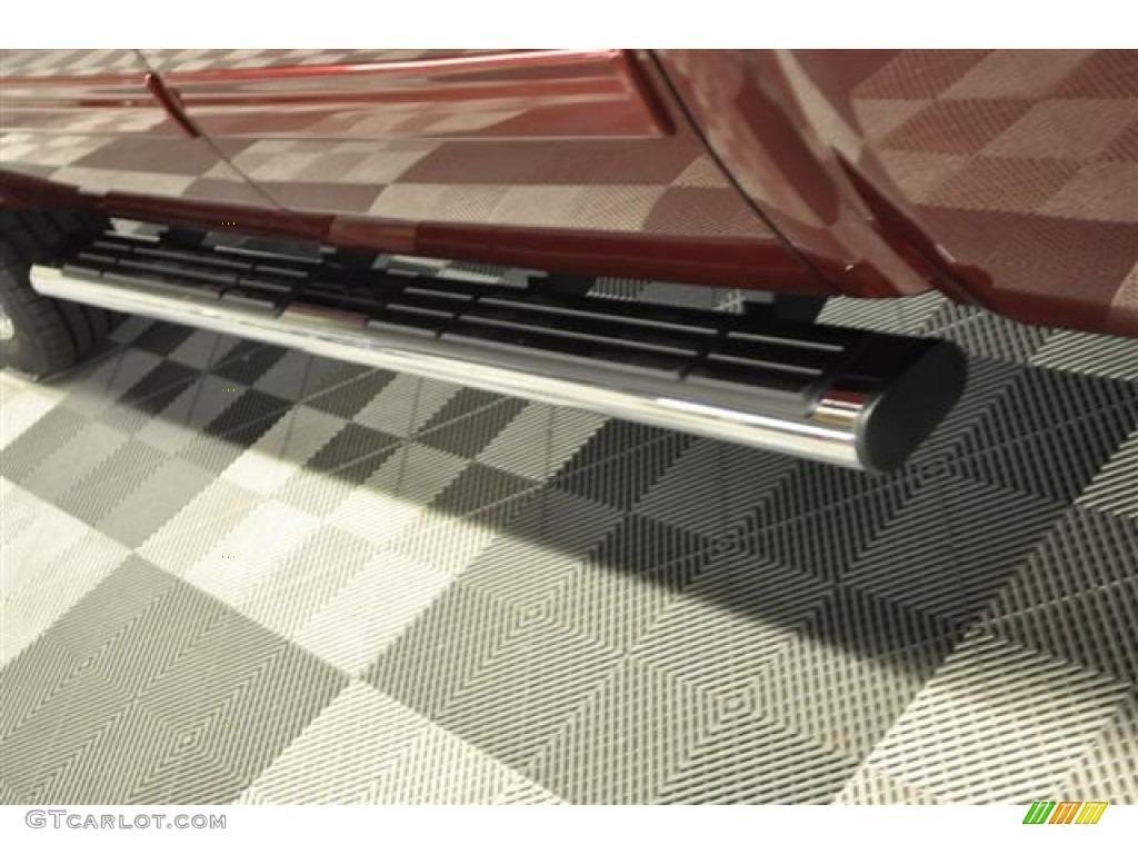 2013 Silverado 1500 LTZ Crew Cab 4x4 - Deep Ruby Metallic / Light Cashmere/Dark Cashmere photo #5