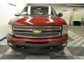 2013 Deep Ruby Metallic Chevrolet Silverado 1500 LTZ Crew Cab 4x4  photo #6